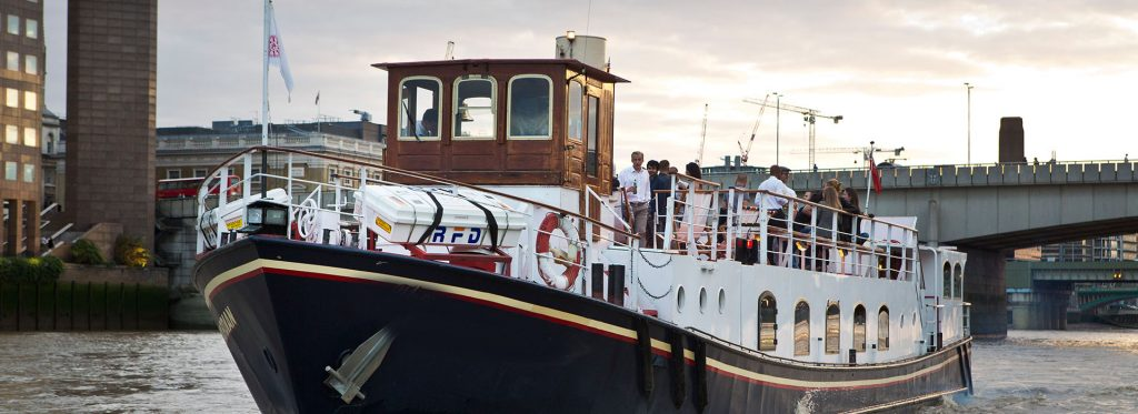Belle Époque Boat - Corporate Boat Hire on the River Thames in London