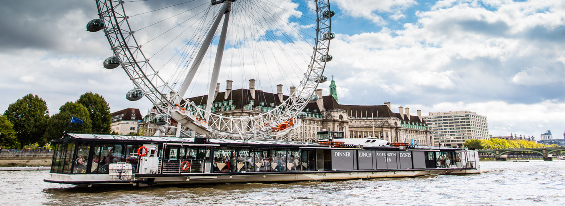 Glass House Luxury Boat - Luxury Boat Hire on the River Thames in London. Perfect London Venue for Award Ceremonies, VIP Parties, Gala Dinners and Corporate Events.