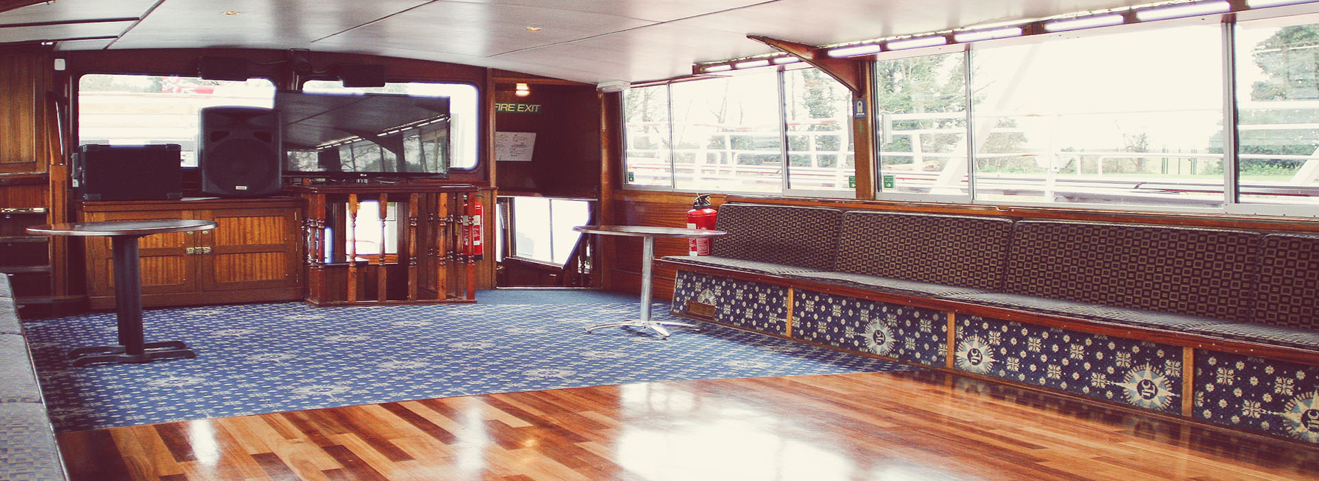 Thames Voyager Boat - Corporate & Party Boat Hire on the River Thames in London.