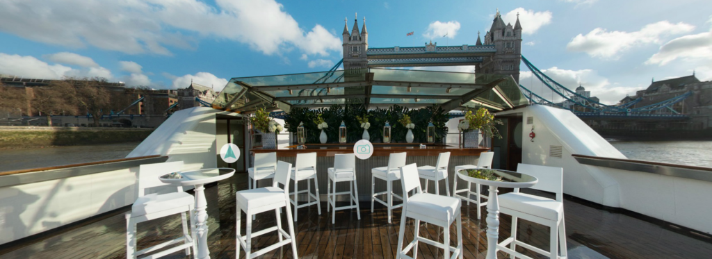 Luxury Liner Boat - Thames VIP Boat Hire London